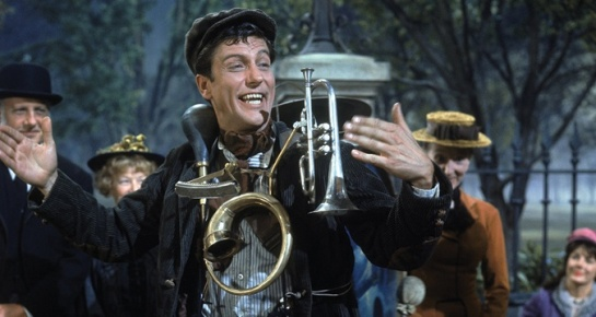 Dick Van Dyke looks like he can pull it off, but he also had the benefit of a pre-recorded soundtrack.